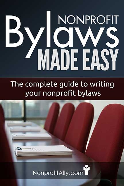 writing bylaws The bylaws of an organization contain the fundamental principles that govern its operation all but the most informal groups should have their basic structure and.