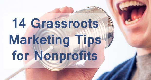 tips for nonprofit marketing