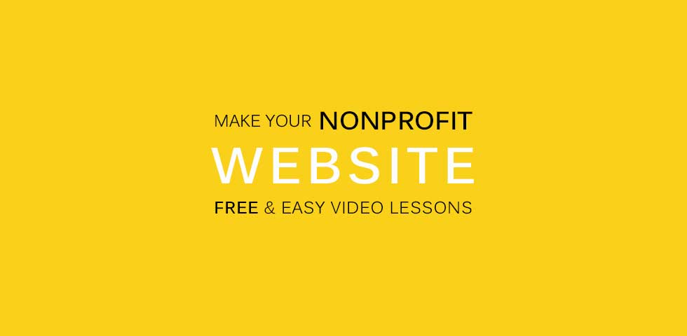 How to make a website for your nonprofit
