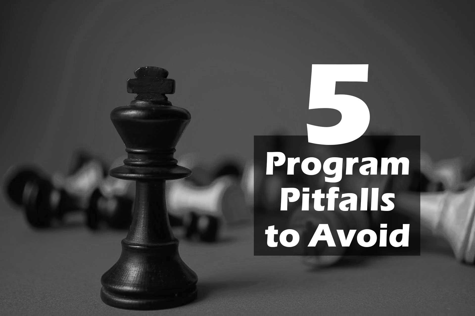 Nonprofit Program Pitfalls